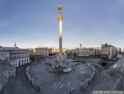 Смотровая площадка на Майдане Независимости