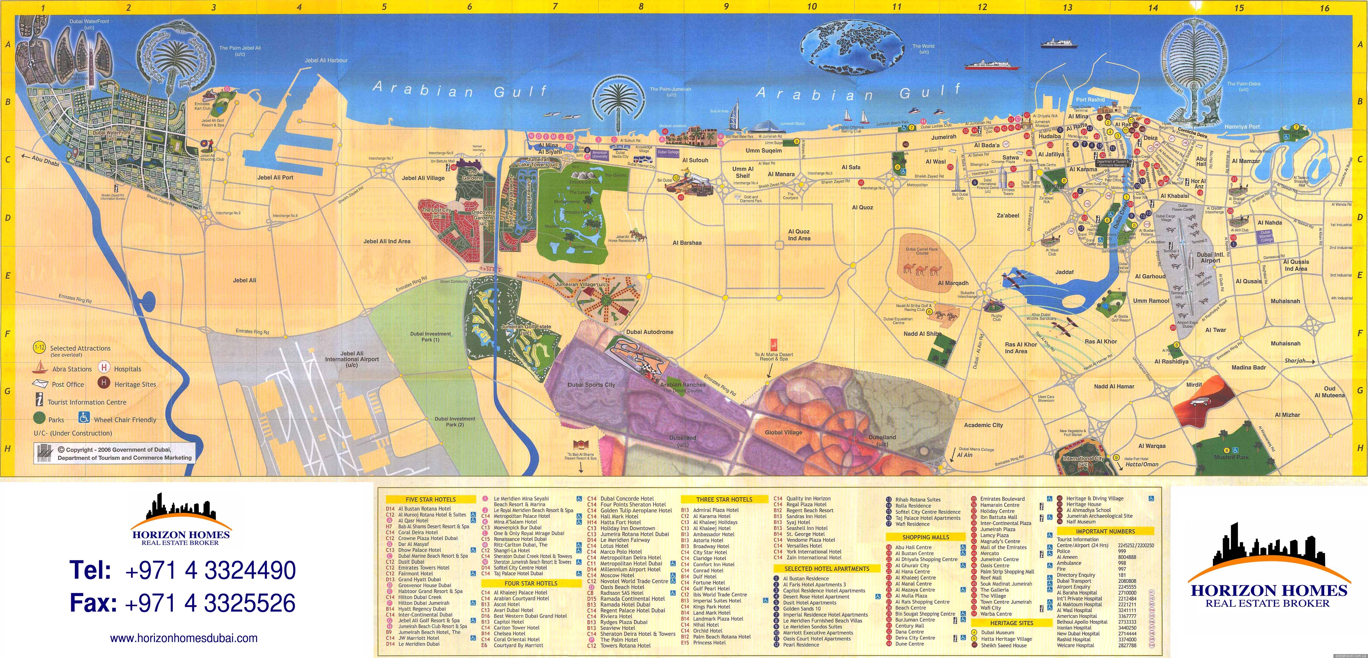 UAE Blog about interesting places – Uae Maps and Directions