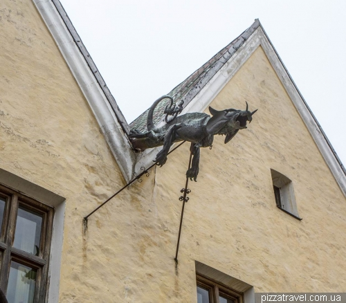 Dragon in Kamianets-Podilskyi