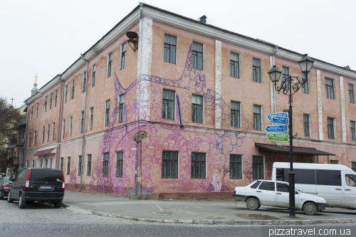 Graffiti in Kamianets-Podilskyi