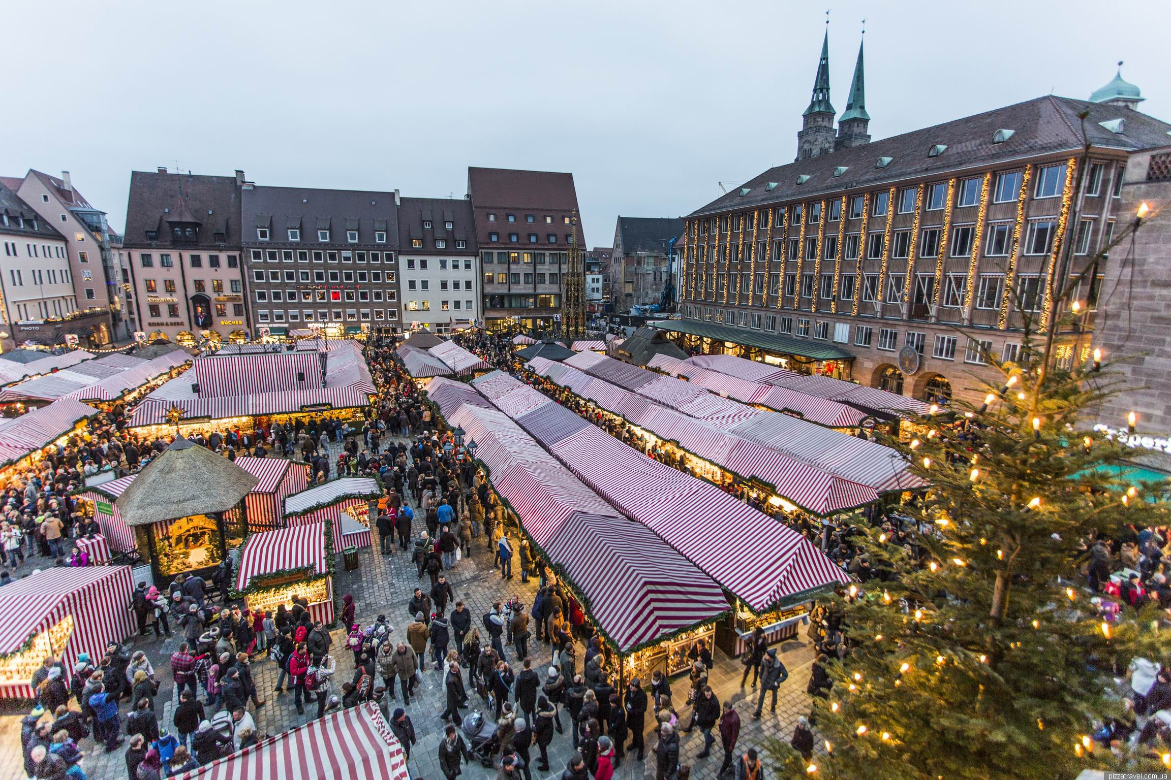 Christmas market in Nuremberg - Germany - Blog about interesting places