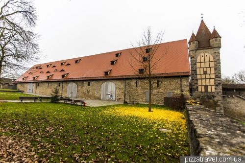 Средневековый конгресс-холл в Ротенбурге-на-Таубере