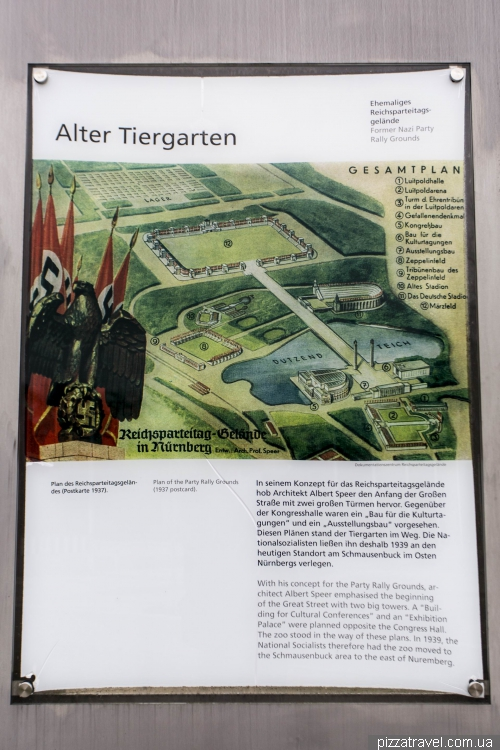 Nazi party rally grounds