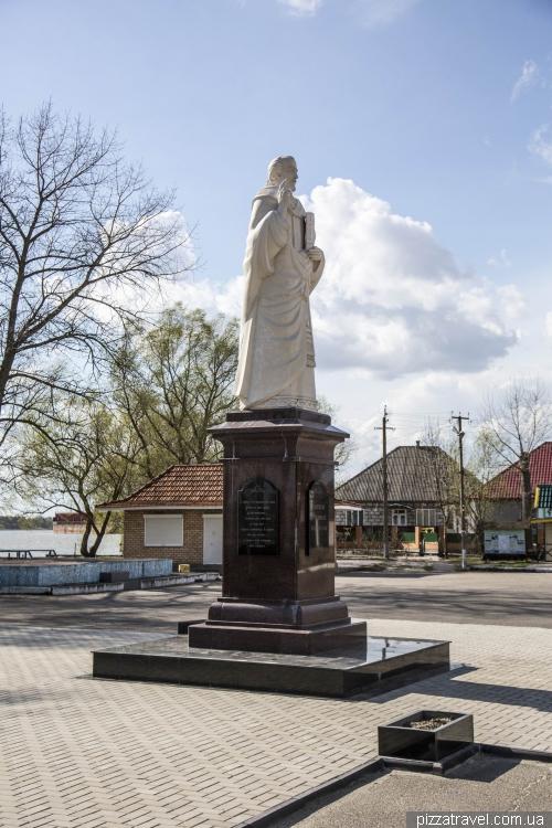 Памятник Святому Николаю – покровителю рыбаков и мореплавателей