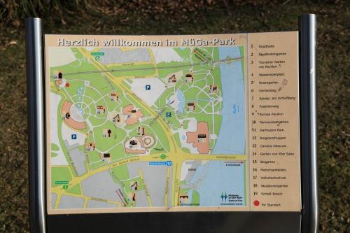 Карта Muga Park в Мюльхайм-на-Руре