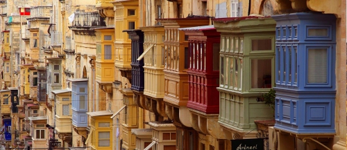 Balconies of Valletta