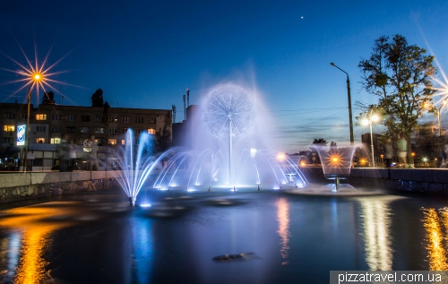 Fountain in Kaniv