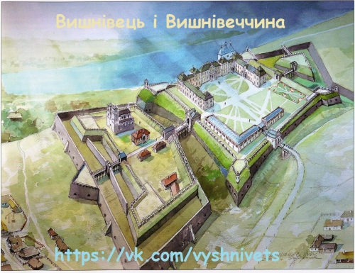 The reconstruction of the palace in Vyshnivets