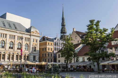 Площадь Ливов в Старом городе