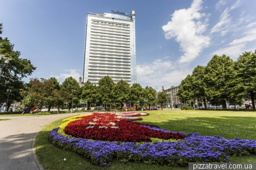 Radisson Hotel in Riga