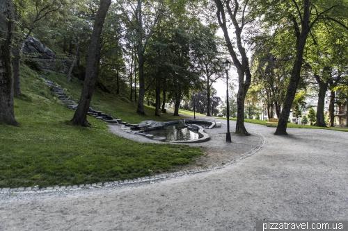 Городской парк Олесунна