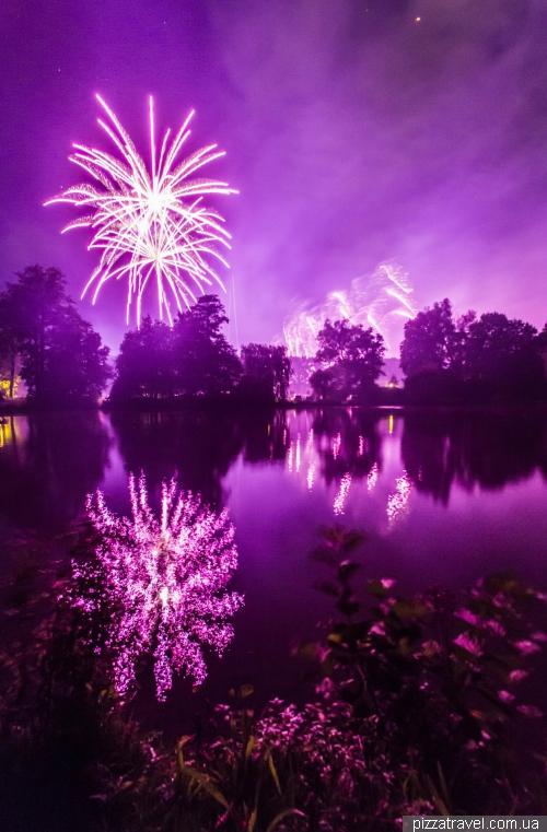 Фестиваль фейерверков в Ганновере