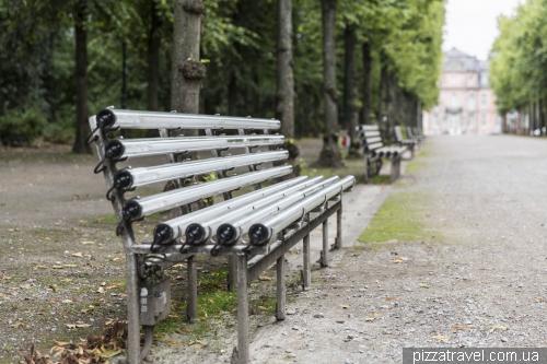 Парк Hofgarten в Дюссельдорфе