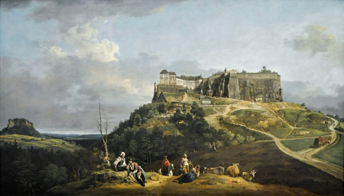 Painting of Canaletto (1756-1758)
