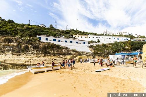 Пляж Бенагил