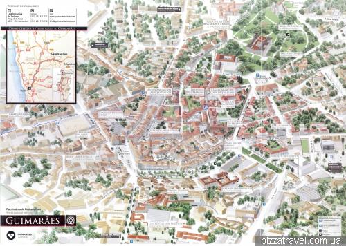 Карта Гимарайнша