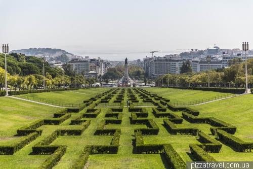 Лісабон, Edward VII park