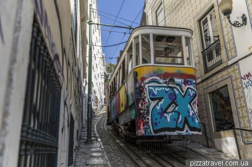 Лиссабон, фуникулер Lavra