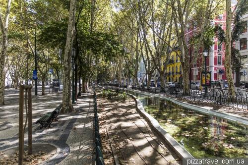 Лиссабон, проспект Avenida da Liberdade