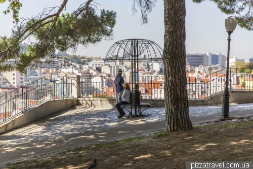Лісабон, сад Торел