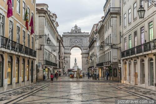 Лісабон, Arco da Rua Augusta