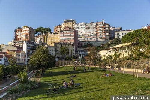 Лісабон, Jardim da Cerca da Graça