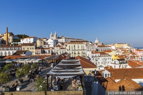 Лісабон, Miradouro das Portas do Sol