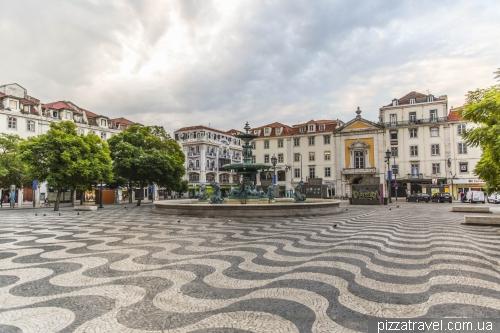 Лиссабон, площадь Rossio