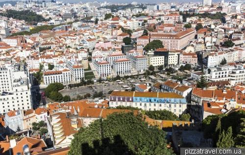 Лиссабон, площа Martim Moniz