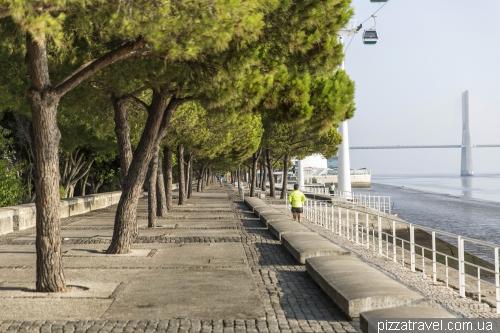 Лісабон - парк Націй