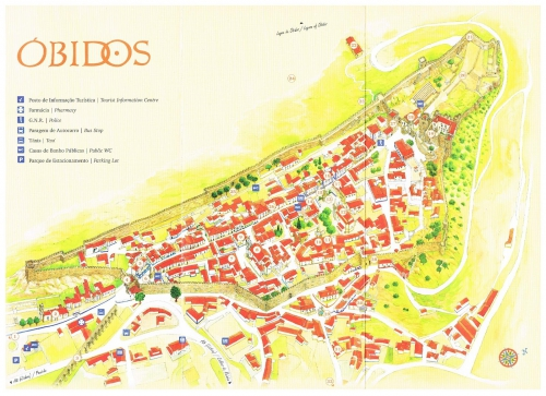 Map of Obidos