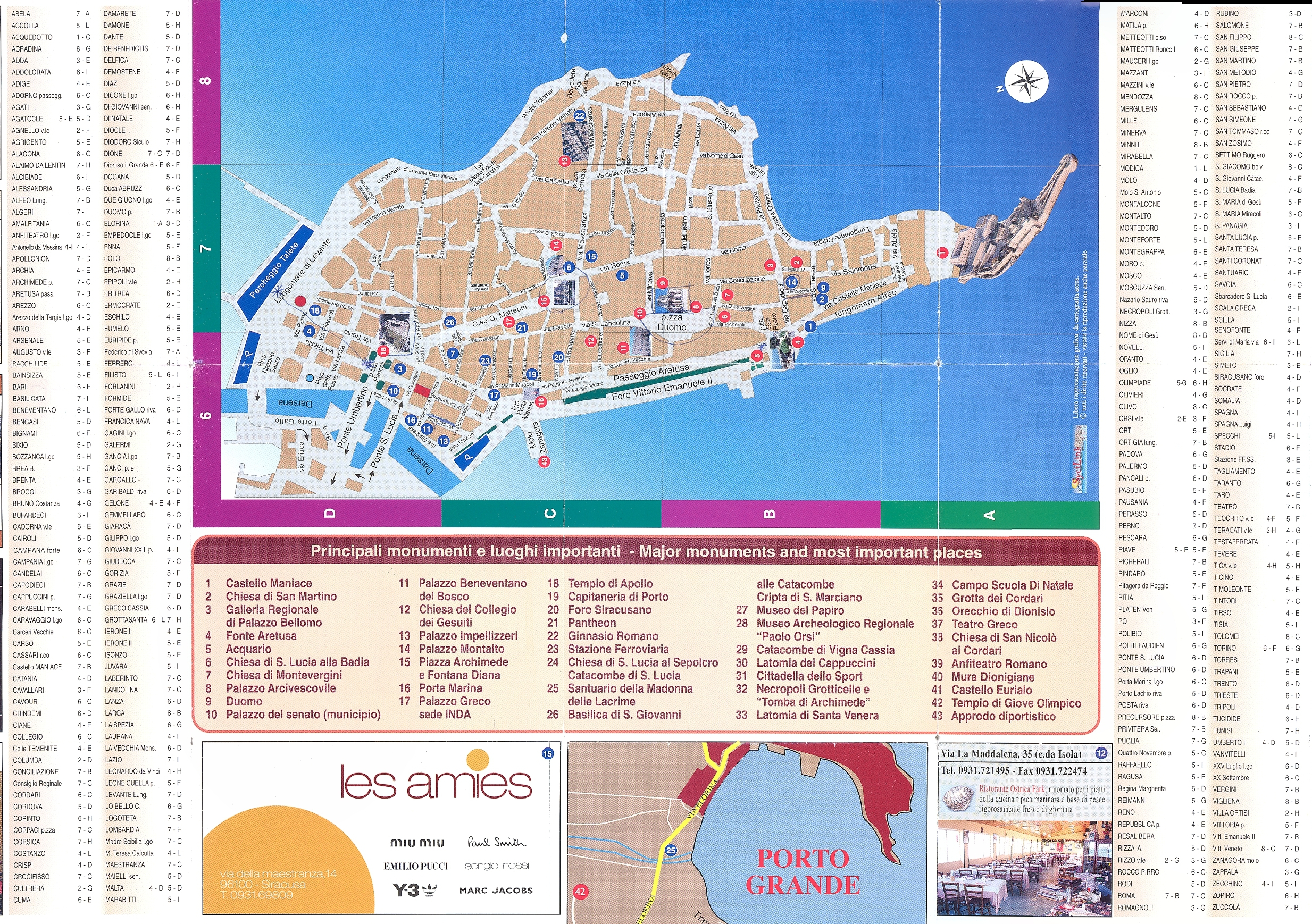 Syracuse Italy Blog About Interesting Places - Syracuse map italy