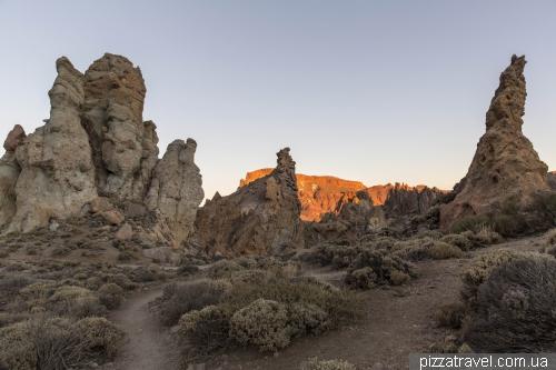 Скалы Гарсия в национальном парке Тейде