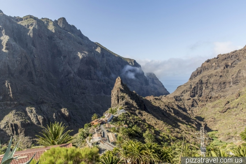 Masca Gorge on Tenerife island