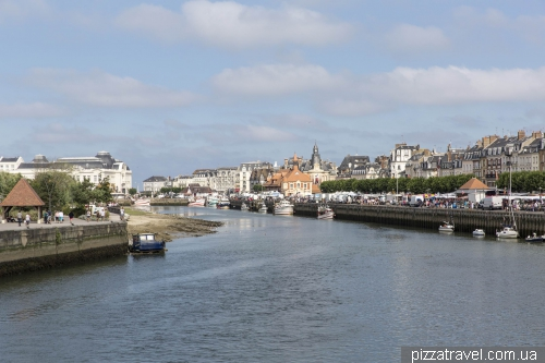 Deauville and Trouville