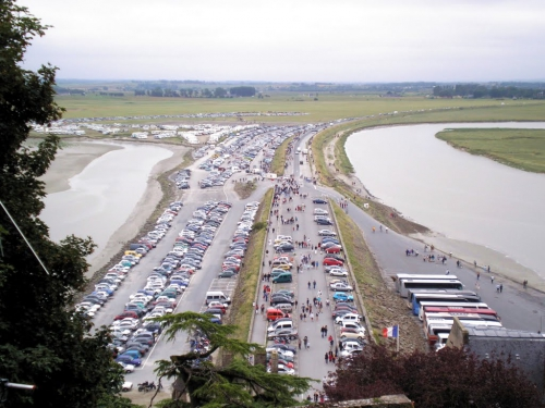 Mont Saint Michel parking (2009)