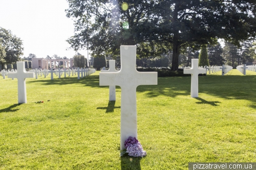 Omaha Beach and the American Cemetery