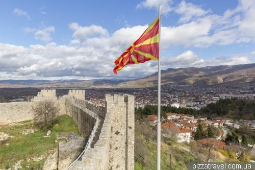 Охрид, крепость Самуила