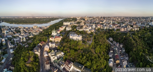 Great panorama of Kiev