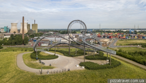Tiger and Turtle - The Magic Mountain in Duisburg
