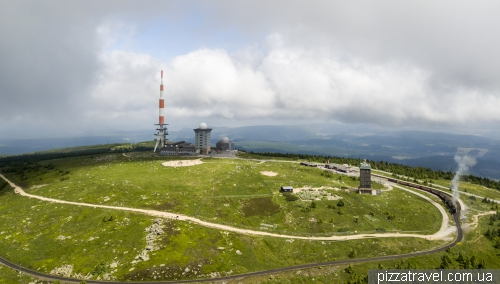 Brocken mountain in Harz