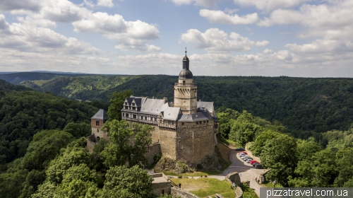 Falkenstein Castle in Harz
