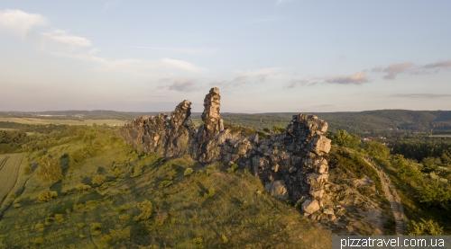 Стіна диявола (Teufelsmauer)