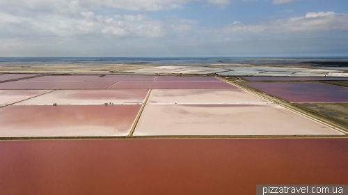Giraud salt fields
