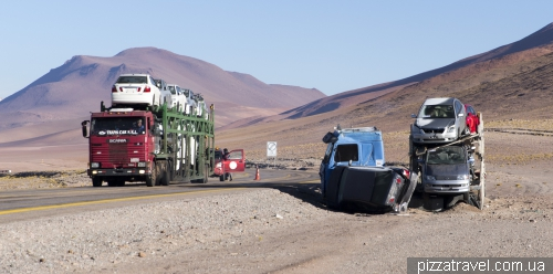 Accident in the Atacama Desert
