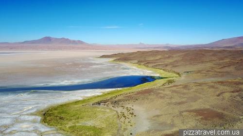 Salar de Tara lake