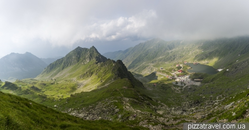 Transfagarash road and Balea lake
