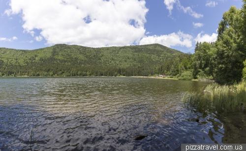 Озеро святой Анны (Lacul Sfanta Ana)
