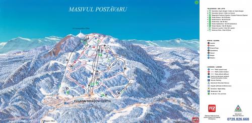 Карта Пояна Брашов