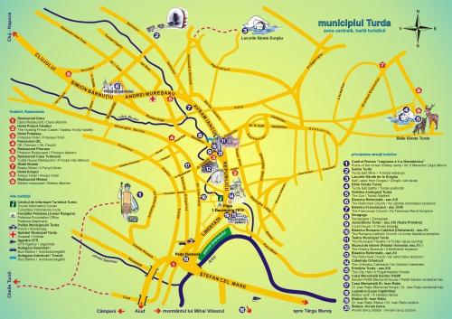 Карта Турды